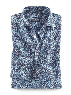 Liberty-Hemd Print Blue Hour