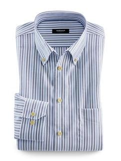 Extraglatt-Hemd Twillstreifen