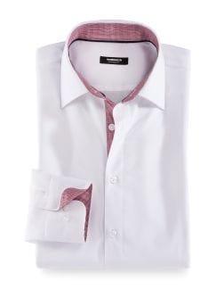 Extraglatt-Aktiv-Hemd Weiß Detail 1