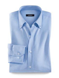 Pique-Hemd T-Shirt-Komfort Hellblau Detail 1