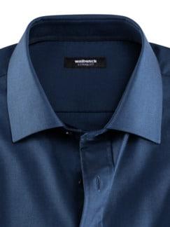 Extraglatt-Hemd Oxford Dunkelblau Detail 3