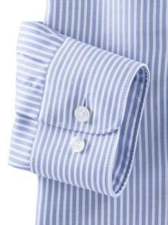 Masterclass-Hemd Str. Blau Weiss Detail 4
