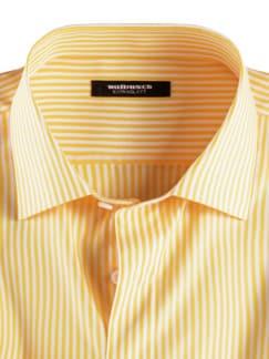 Extraglatt-Hemd Römerstreifen Gelb Detail 3