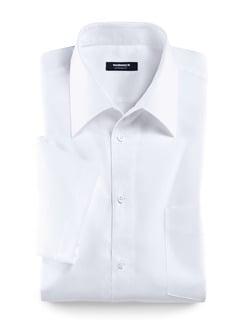 Extraglatt-Hemd Walbusch-Kragen Weiß Detail 1