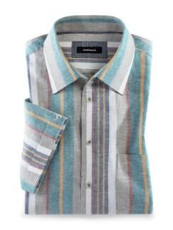 Leinenmix-Hemd