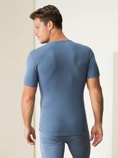 Thermo-Shirt 2er-Pack Blau Detail 4