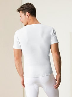 Thermo-Shirt 2er-Pack Weiß Detail 3