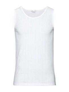 Klimasoft-Unterhemd 2er-Pack Weiß Detail 1