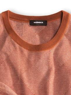 Francesco Morri Jacquard Pullover Rost/Terra Detail 3