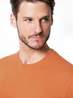 T-Shirt Rundhalsausschnitt Mandarine Detail 4