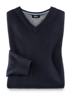 V-Pullover Soft Cotton