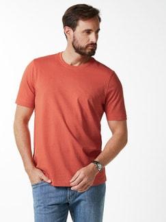 T-Shirt Rundhalsausschnitt Orange Detail 2