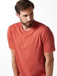 T-Shirt Rundhalsausschnitt Orange Detail 4
