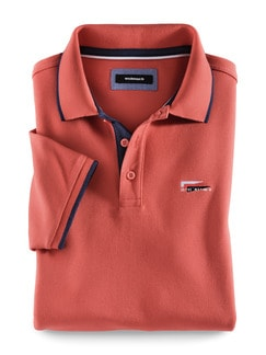 Maritim Polo Grapefruit Detail 1