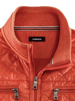 Allzweck-Blouson Bedford Orange Detail 3