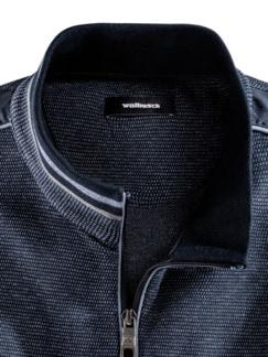 Komfort-Jacke Farbeffekt Marine Detail 3