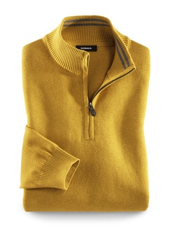 Troyer Cashmere Touch Safran Detail 1