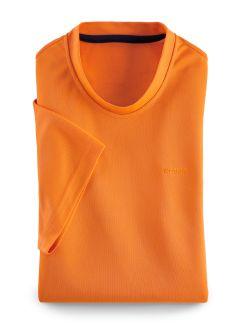 Klepper Funktions T-Shirt Orange Detail 1