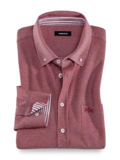 Extraglatt-Shirt Gentleman Rot Detail 1