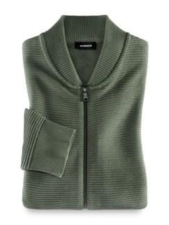 Zip-Jacke Ottoman Khaki Detail 1