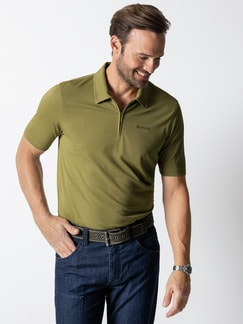 Klepper Dry Touch Polo Moos Detail 2