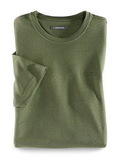 Klepper Dry Touch T-Shirt Olive Detail 1