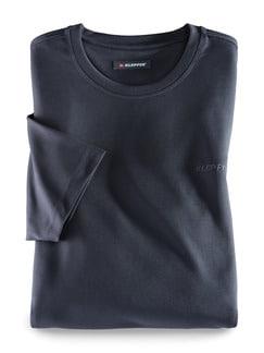 Klepper Dry Touch T-Shirt Anthrazit Detail 1