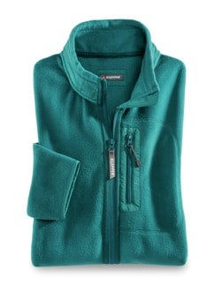 Klepper Active-Fleecejacke Lagune Detail 1