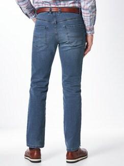 Jogger-Jeans Five Pocket Light Blue Detail 4