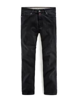 Highflex-Jeans Schwarz Detail 1