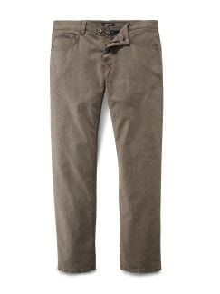 Melange-Twill Five Pocket Sand Detail 1