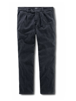 Thermo Bundfalten-Comfortjeans Dark Blue Detail 1