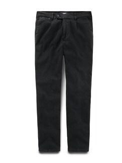 Thermo Bundfalten-Comfortjeans Black Detail 1