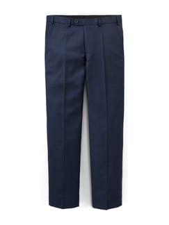 Biella Anzug-Hose PinPoint dunkelblau Detail 1