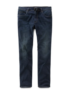 Husky Jeans Five Pocket Dark Blue Detail 1