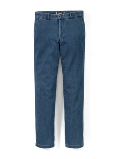 Jogger-Jeans Chino Light Blue Detail 1