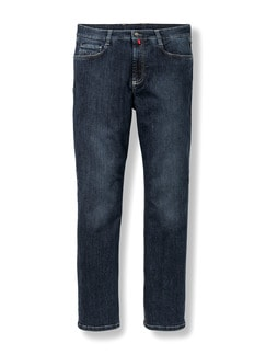 Extraglatt Flex Jeans Comfort Fit Dark Blue Detail 1