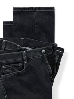 Extraglatt Flex Jeans Comfort Fit Black Detail 4