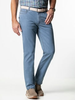 Ultra Dry Klima Jeans Hellblau Detail 2