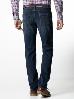Gürtel-Jeans Modern Fit Dark Blue Detail 3