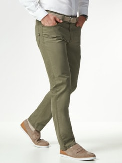 Extraglatt High Stretch Five-Pocket Khaki Detail 2