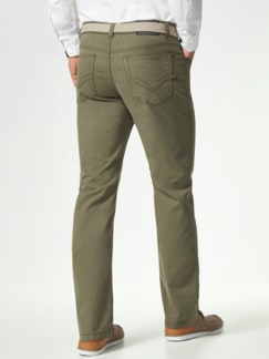 Extraglatt High Stretch Five-Pocket Khaki Detail 3