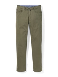 Extraglatt High Stretch Five-Pocket Khaki Detail 1