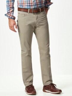Extraglatt High Stretch Five-Pocket Beige Detail 2