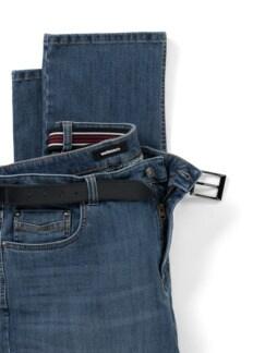 Gürtel-Jeans Regular Fit Blue Stone Detail 4