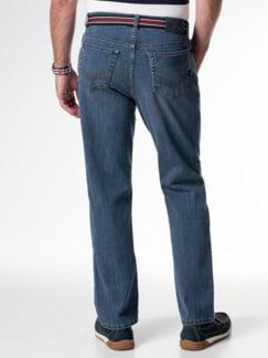 Gürtel-Jeans Regular Fit Blue Stone Detail 3