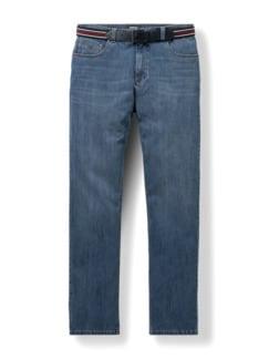 Gürtel-Jeans Regular Fit Blue Stone Detail 1