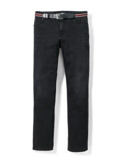 Gürtel-Jeans Black Detail 1