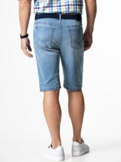 Ultralight Bermudas Jeans 2.0 Summer Bleached Detail 3