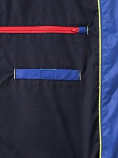 Steppweste Wash&Wear Royalblau Detail 3